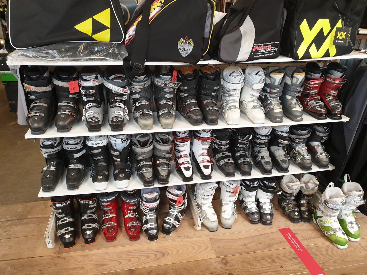 Gebruikte ski/snowboard schoenen