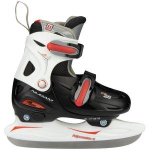 Kinder schaatsen zwart (verstelbaar) 0026