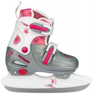 Kinderschaatsen roze (verstelbaar) 3020