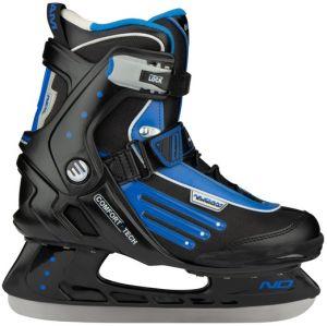 ijshockey schaats ZWART-BLAUW